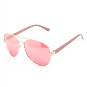 Kameakay Pink Aviator Sunglasses